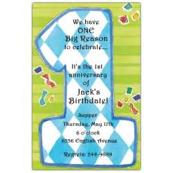 one boy 1st birthday invitations paperstyle