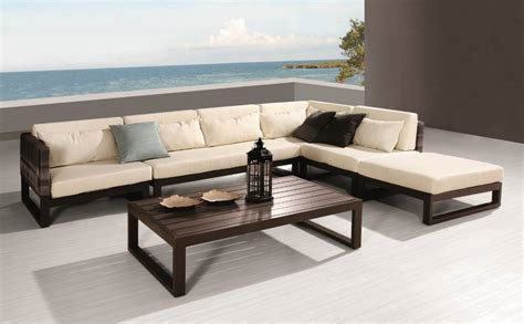 patio couches babmar modern outdoor patio furniture babmar com