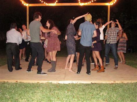 backyard dance party i think i want a dance floor in my backyard that way i