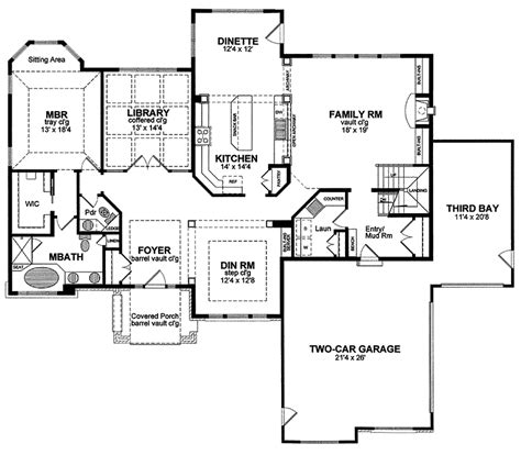 Normandy House Plans by Normandy Traditional Home Plan 034d 0054 House Plans And