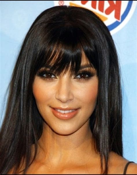 Black Hairstyles With Bangs On by Bob Hairstyles With Side Bangs For Sleek