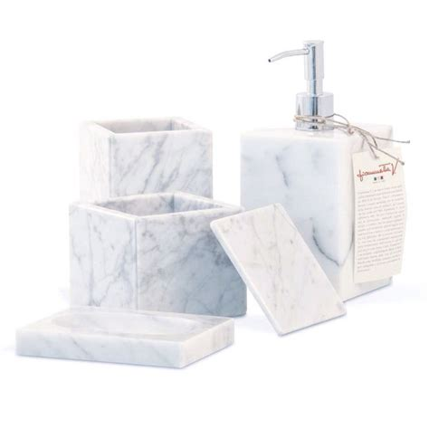 Carrara Marble Bathroom Accessories 1000 Images About Marbe Bathroom Accessories By Fiammetta V On Shops Toothbrush