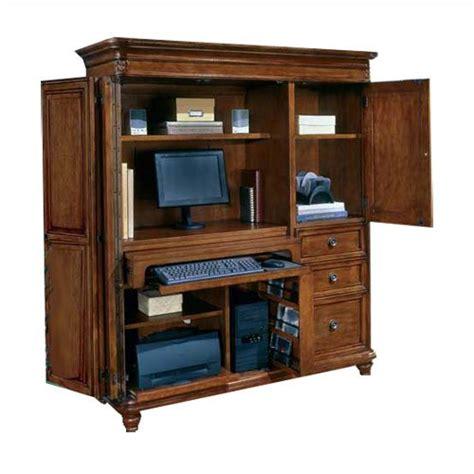 small computer armoire home furniture design
