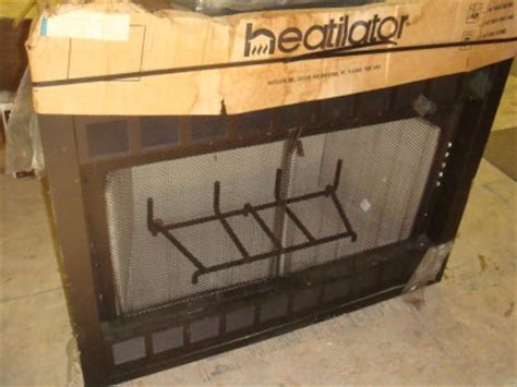 new 42 quot heatilator wood burning fireplace