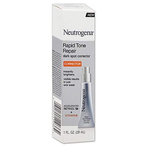 rapid tone repair dark spot corrector neutrogena neutrogena 174 1 oz rapid tone repair dark spot corrector