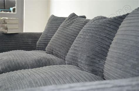 cord fabric sofa grey two 2 seater sofa jumbo cord fabric dylan sofa