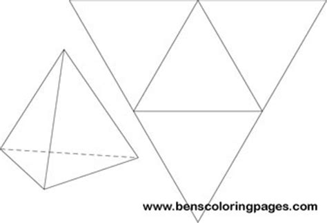 How To Make A Triangular Pyramid Out Of Paper - area and volume jeopardy review answer key