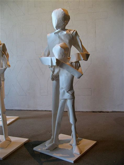 Origami Person - the stunning size origami of sipho mabona realclear