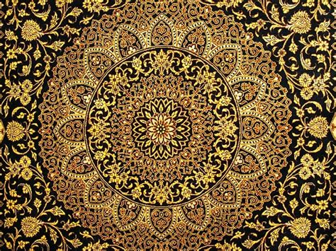 Rugs And Carpets By Design by Silk Quom Rug 4 5 X 7 3 Versace Design