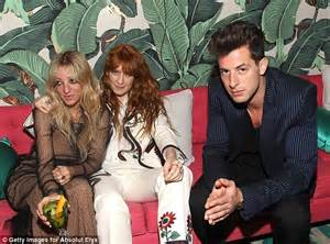 Lady gaga and pamela anderson attend mark ronson s grammys after party