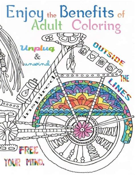 benefits of coloring for adults enjoy the benefits of coloring this a4 50 page