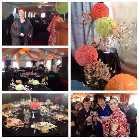 oriental themed events japanese theme party for mikado event festas pinterest