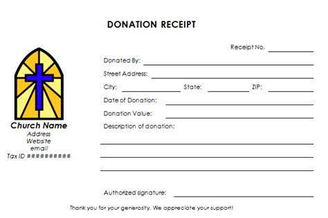 charity receipt template donation receipt letter lawyer s information portal