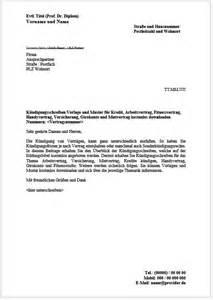 Vorlage Kündigung Versicherung Berlin Direkt K 252 Ndigung Muster
