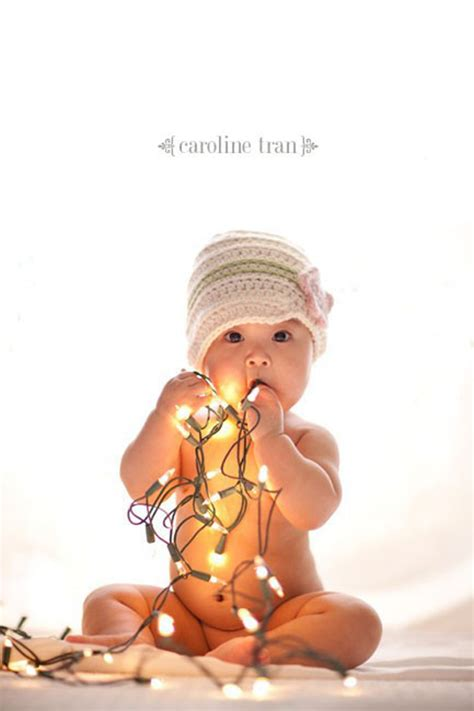 how to take baby frist christmas pictures baby s pictures ideas fizara