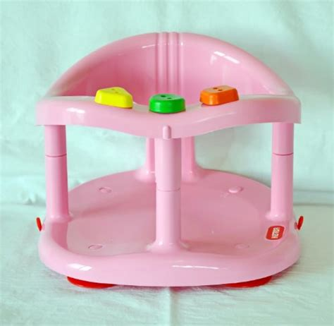 baby bathtub seat ring baby bath tub ring seat new in box by keter pink best