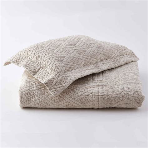 coverlet sham traditions linens bedding palmer matelasse coverlet and shams