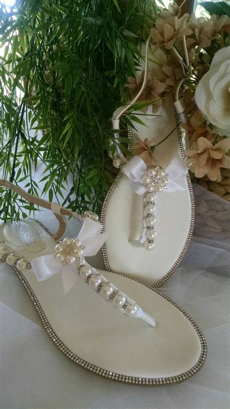 bridal sandals with pearls bridal wedding sandals with crystals and pearls