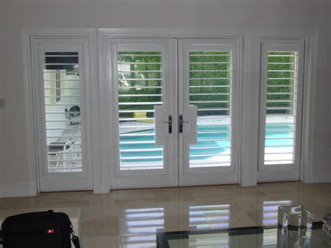 Bathroom Decorating Ideas For Kids by Plantation Shutters Traditional Entry Miami By