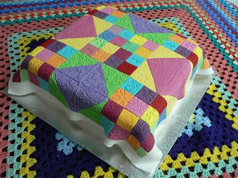 Quilting A Cake by Quilt Cake Ideas