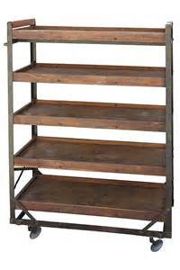 Industrial Bakers Rack School Shoes Vintage Shoe Racks