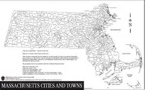 Map Of Massachusetts Cities And Towns by Maps And Massachusetts On Pinterest