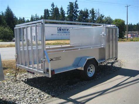 5 x 11 aluminum landscaping utility trailer 2 year