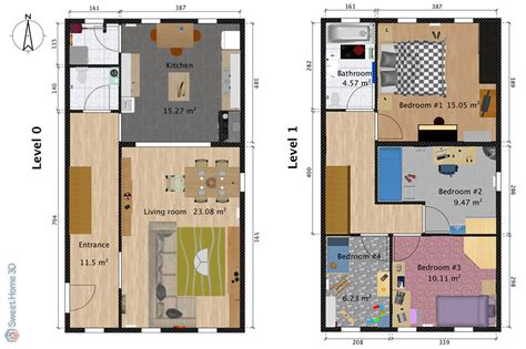 sweet home floor plan sweet home 3d draw floor plans and arrange furniture freely