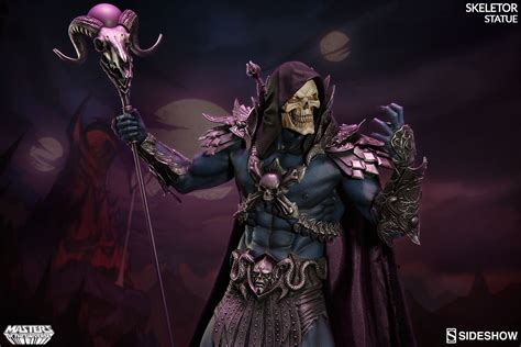 figure universe sideshow collectibles masters of the universe skeletor statue