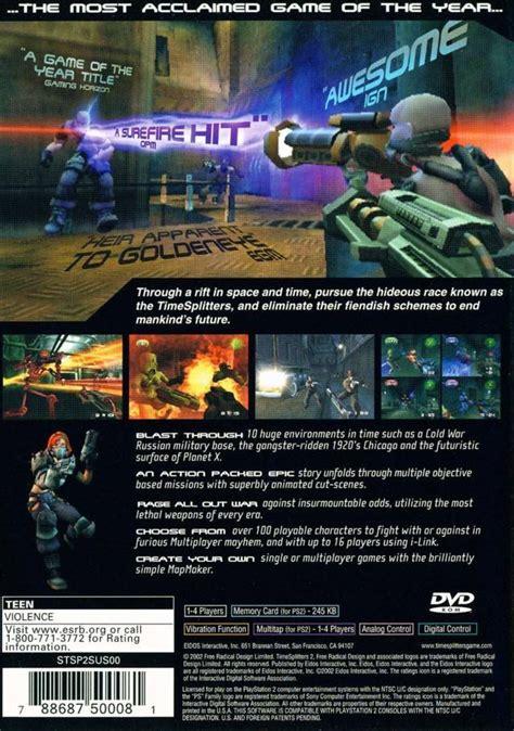 Hacks For Home Design Game Timesplitters 2 Box Shot For Playstation 2 Gamefaqs