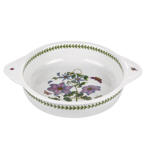 Portmeirion Botanic Garden Round Baking Dish With Handles Botanic Garden Dishes Portmeirion