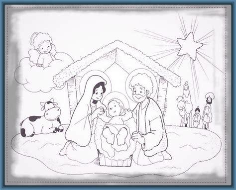 imagenes de navidad para colorear nacimientos imagenes de nacimientos navide 241 os de jesus archivos