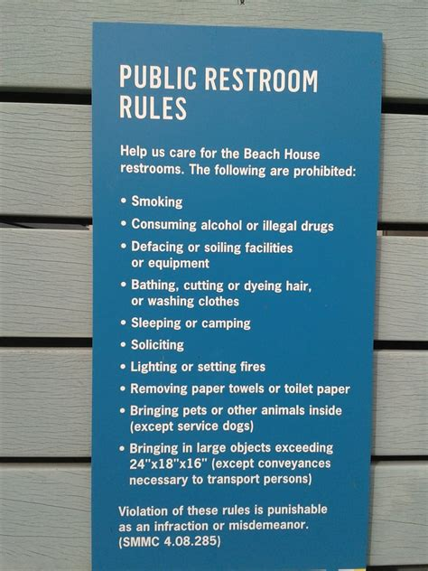 employee bathroom laws public restroom rules pictures to pin on pinterest pinsdaddy