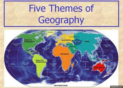 5 themes of geography guided notes pinterest the world s catalog of ideas