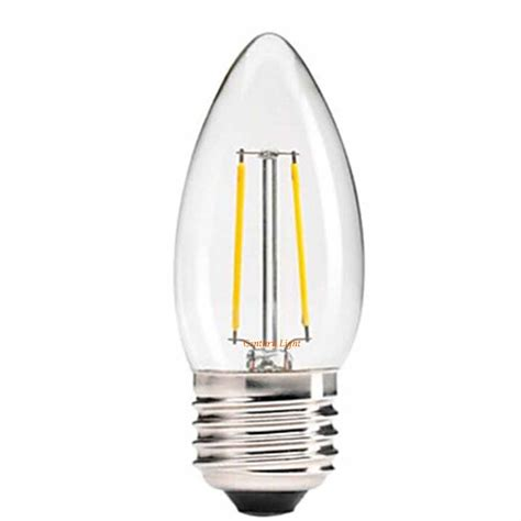 Led Chandelier Light Bulbs 2w 4w 6w E27 E26 Led Filament Light Bulb Chandelier Candle Style Warm White 110v 220v Dimmable