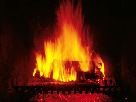 Fireplaces Fires by Crackling Fireplace Wallpaper 27365041 Fanpop