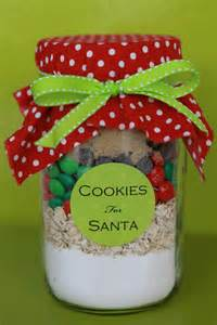 cookies in a jar for santa