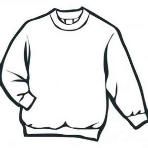 Image Gallery Sweater Drawing Sweater Coloring Page