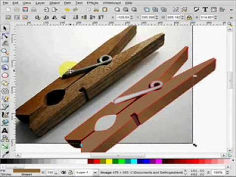 raster to vector tutorial inkscape bitmap to vector tutorial youtube