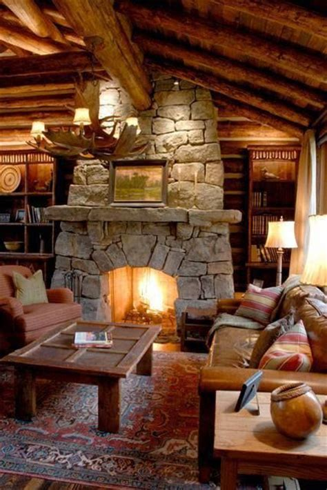 Cozy Cabin Fireplace by 25 Best Ideas About Cabin Fireplace On