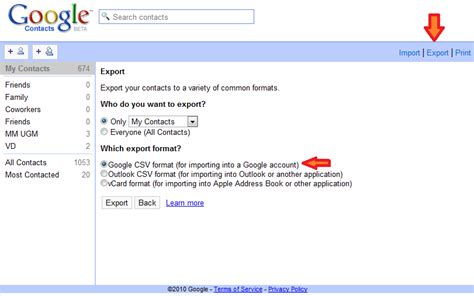 format csv google contacts 4 steps to import export blackberry contacts using csv file