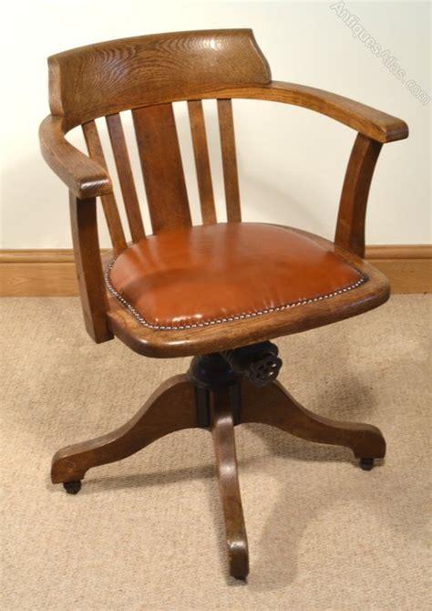 1930s Oak Swivel Chair Antiques Atlas Antique Swivel Chair