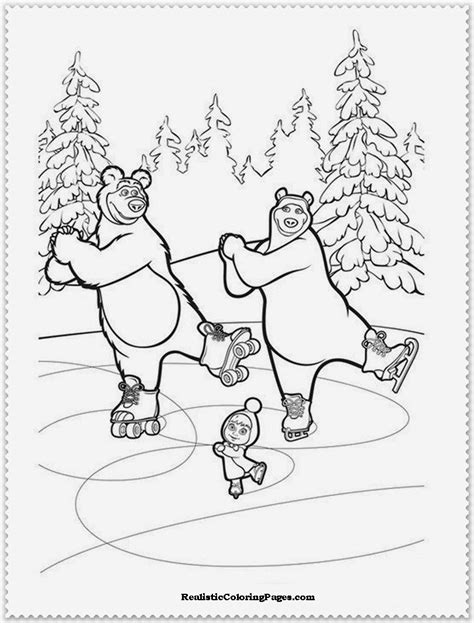 coloring pages masha and bear free coloring pages of marsha and the bear