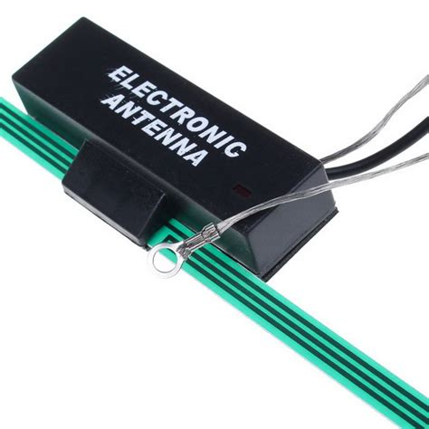 car frequency fm signal lification electronic antenna green free shipping dealextreme