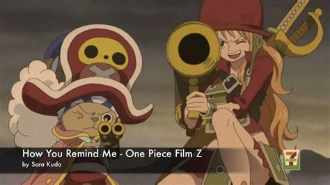 one piece film z how you remind me one piece film z scenes how you remind me youtube