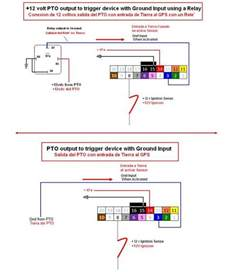 pto wiring diagram gps trackers