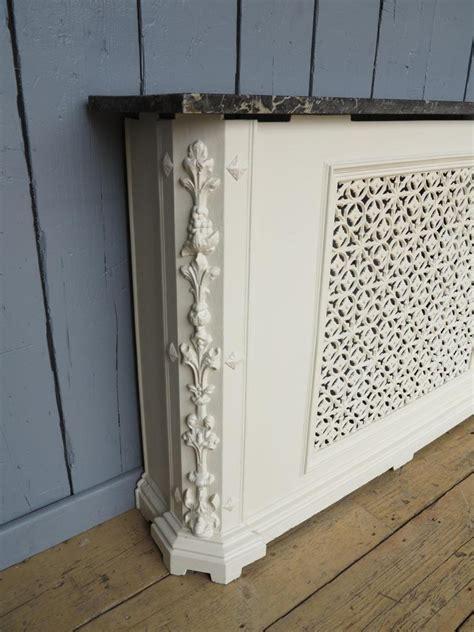 Original Cover Radiator Silver original cast iron marble topped radiator cover panel cover ebay