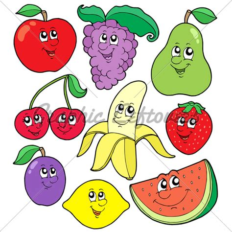 Vegetables fruits and veggies clipart china cps