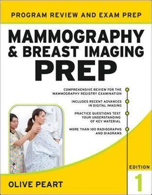 mammography and breast imaging prep program review and