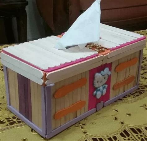 membuat rak buku dari stik es krim 20 kreasi kerajinan tangan dari barang bekas radenwinata com